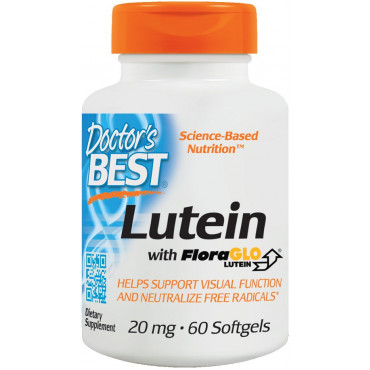 Lutein with FloraGLO, 20mg - 60 softgels