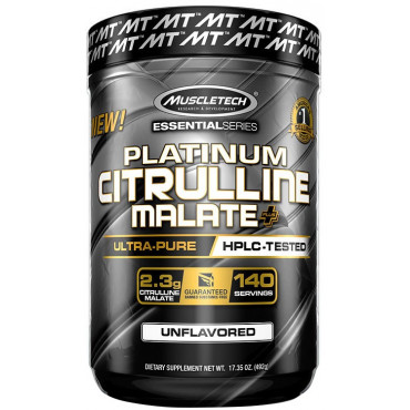 Platinum Citrulline Malate Plus, Unflavored - 492g