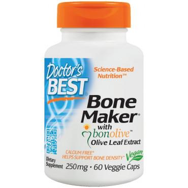 Bone Maker with Bonolive, 250mg - 60 vcaps