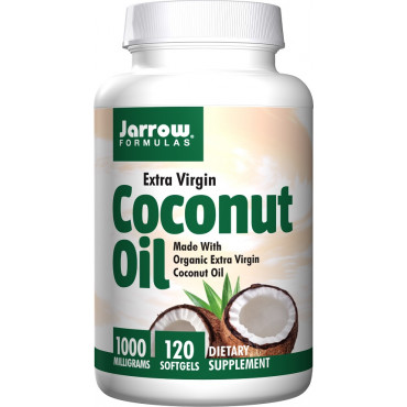 Coconut Oil Extra Virgin, 1000mg - 120 softgels
