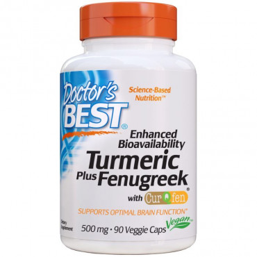 Enhanced Bioavailability Turmeric + Fenugreek - 90 vcaps