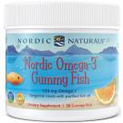 Nordic Omega-3 Gummies, 124mg Tangerine Treats - 30 gummies