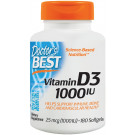 Vitamin D3, 1000 IU - 180 softgels