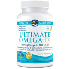 Ultimate Omega-D3, 1280mg Lemon - 60 solfgels