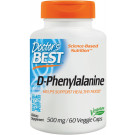 D-Phenylalanine, 500mg - 60 vcaps