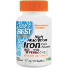 High Absorption Iron, 27mg - 120 tabs