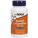 Acetyl-L-Carnitine, 500mg - 50 vcaps