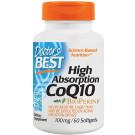 High Absorption CoQ10 with BioPerine, 100mg - 60 softgels