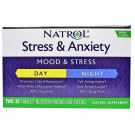 Stress & Anxiety Day & Night Formula - 30 + 30 tabs