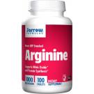 Arginine, 1000mg - 100 tabs
