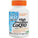 High Absorption CoQ10 with BioPerine, 200mg - 60 vcaps