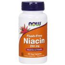Niacin Flush-Free, 250mg - 90 vcaps