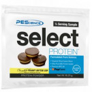 Select Protein, Frosted Chocolate Cupcake - 16g (1/2 serving)