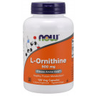 L-Ornithine, 500mg - 120 vcaps