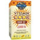 Vitamin Code RAW D3, 2000 IU - 120 vcaps