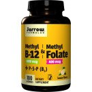 Methyl B-12 & Methyl Folate, 400mcg Lemon - 100 Lozenges