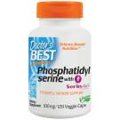 Phosphatidylserine Serine with SerinAid, 100mg - 120 vcaps