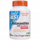 Astaxanthin with AstaReal, 6mg - 30 veggie softgels