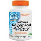 Stabilized R-Lipoic Acid with BioEnhanced Na-RALA, 100mg - 60 vcaps