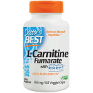 L-Carnitine Fumarate, 855mg - 60 vcaps