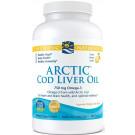 Arctic Cod Liver Oil, 750mg Lemon - 180 softgels