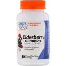 Elderberry Gummies with Vitamin C & Zinc, Berry Blast - 60 gummies