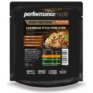 Performance Meals, Caribbean Style Pork Stew & Brown Rice - 1 Pack