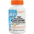 High Absorption Curcumin From Turmeric Root with C3 Complex & BioPerine, 500mg - 120 caps