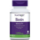 Biotin, 1000mcg - 100 tabs
