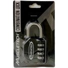 Combination Lock, Black