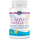 Complete Omega-D3, 565mg Lemon - 60 softgels