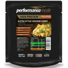 Performance Meals, Katsu Style Chicken Curry & Brown Rice - 1 Pack