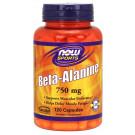 Beta Alanine, 750mg (Caps) - 120 caps