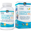 Ultimate Omega-D3, 1280mg Lemon - 120 solfgels