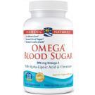 Omega Blood Sugar, 896mg - 60 softgels