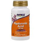 Hyaluronic Acid with MSM, 50mg - 60 vcaps