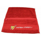 BSN Workout Towel with Pocket, Red