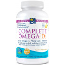 Complete Omega-D3, 565mg Lemon - 120 softgels