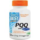 PQQ with BioPQQ, 20mg - 30 vcaps