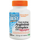 Fast Acting Arginine Complex with Nitrosigine, 750mg - 60 tabs