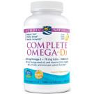 Complete Omega-D3, 565mg Lemon - 120 softgels