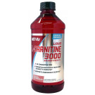 Liquid L-Carnitine 3000, Natural Watermelon - 473 ml.