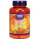 Arginine & Citrulline, 500/250 - 120 vcaps