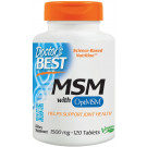 MSM with OptiMSM, 1500mg - 120 tabs