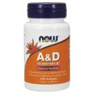 Vitamin A & D, 10000/400 IU - 100 softgels