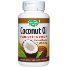 Coconut Oil Pure Extra Virgin, 1000mg - 120 softgels