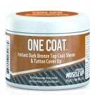 One Coat, Instant Dark Bronze Top Coat Sheen Posing Gel - 58g