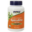 Spirulina Certified Organic, 500mg - 200 tabs
