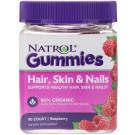 Hair, Skin & Nails Gummies, Raspberry - 90 gummies