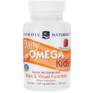 Daily Omega Kids, Natural Fruit Flavor - 30 softgels
